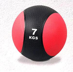 Balón medicinal 7 kilos con rebote profesional