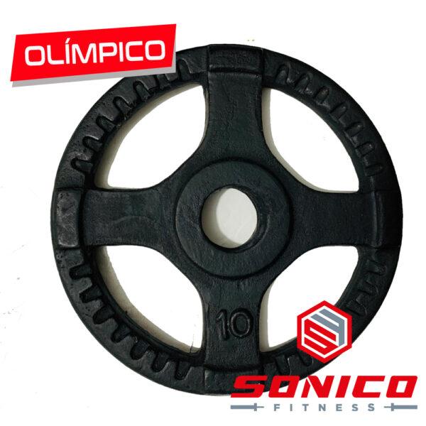 discos olimpicos de hierro sonico fitness