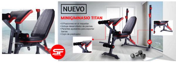 minigimnasio titan