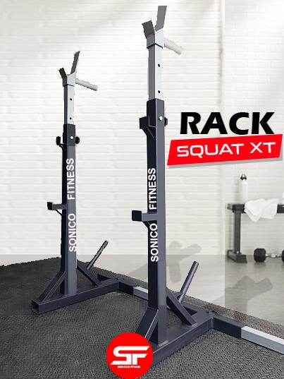 rack squat sonico fitness