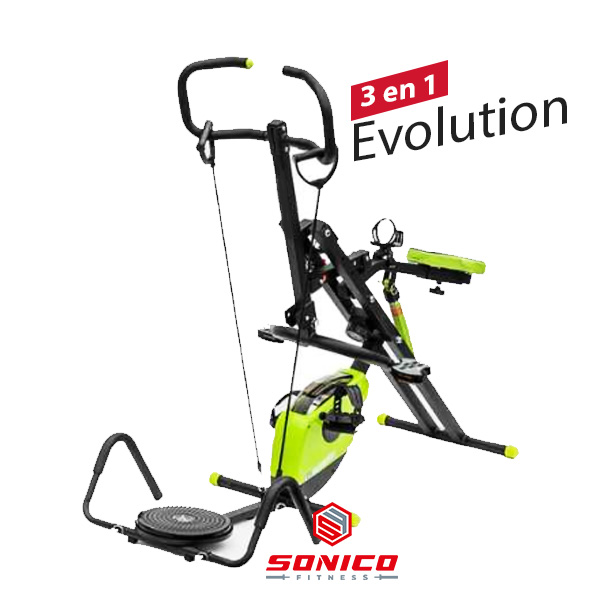 total crunch evolution revolution maquina de ejercicios para gluteos y abdomen