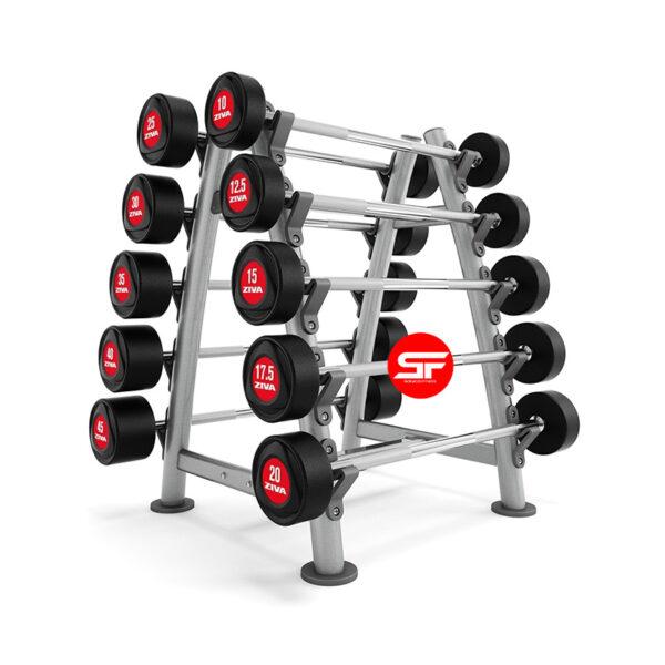 rack de pesas