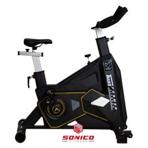 bicicleta spinning spining o estacionaria para entrenar en casa con volante de 20 kilos profesional