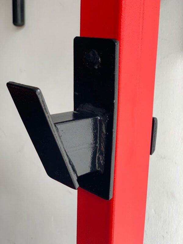 pieza rack soporte para barras y pesas