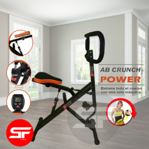 ab crunch power sonico fitness