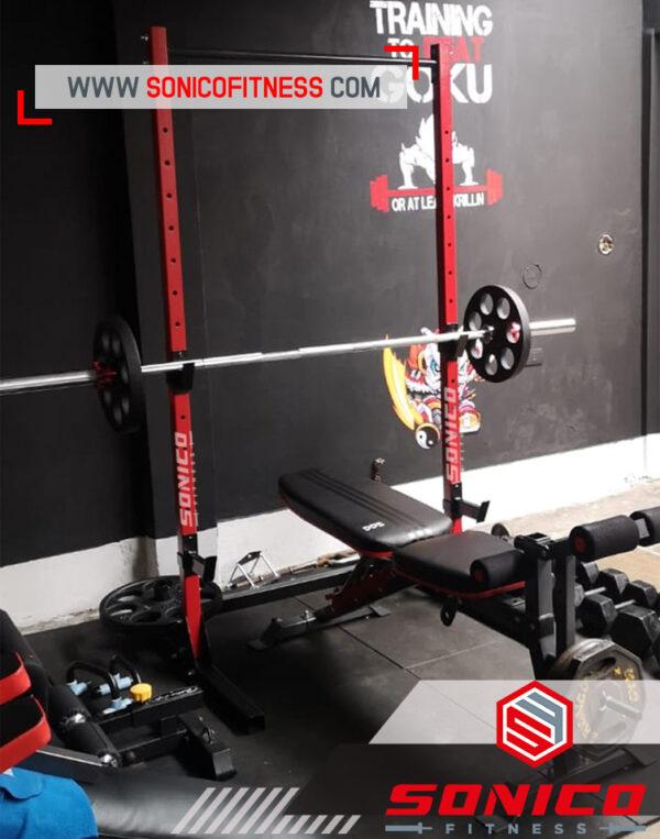rack gym parantes sonico fitness