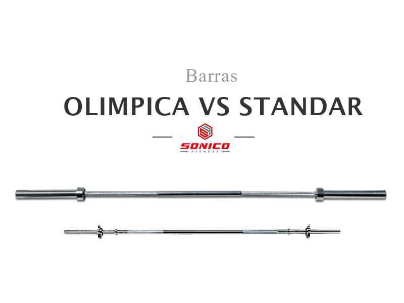 barra de pesas olimpica o standar?
