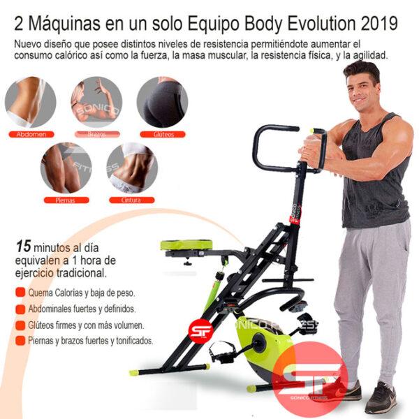 grafica equipo body evolution