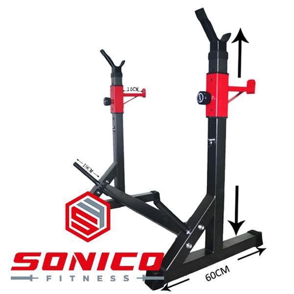 rack squat soporte ajustable
