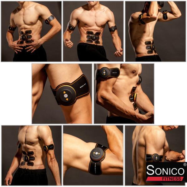 tonificador abdominal smart pad con usb