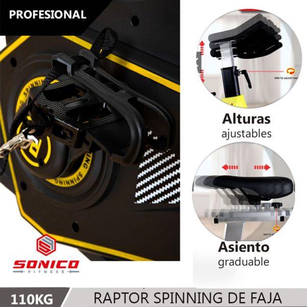 Spinning importadas maquinas de gimnasio elipticas y trotadoras en Lima Perú