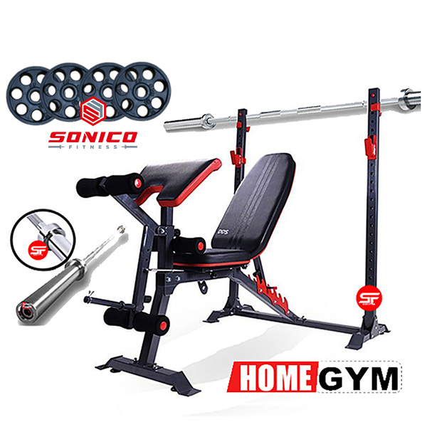 home gym set titan