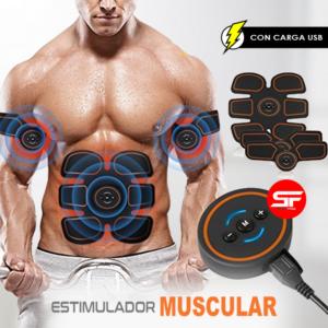 estimulador muscular con usb