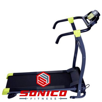 trotadora standar 1.0 hp plegable con pantalla led