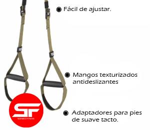 trx cinta de suspension sonico fitness