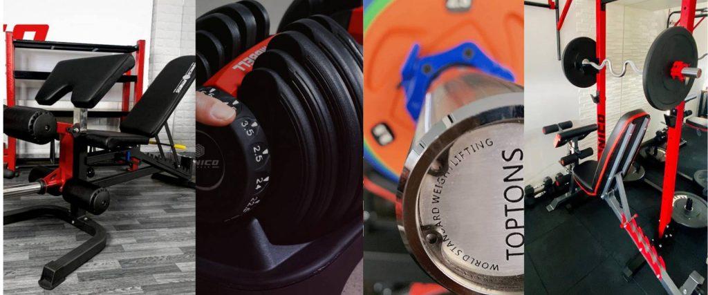 maquinas de gimnasio venta de equipos bancas barras pesas y mancuernas Lima Peru