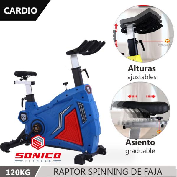 Compra online tu Bicicleta de Spinning y ponte en movimiento sin necesidad de ir al gimnasio.