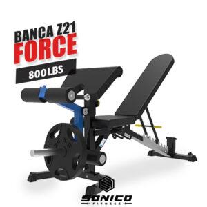 banca de gimnasio profesional multifuncional con ejercicios de piernas pecho y brazos 800 libras de carga