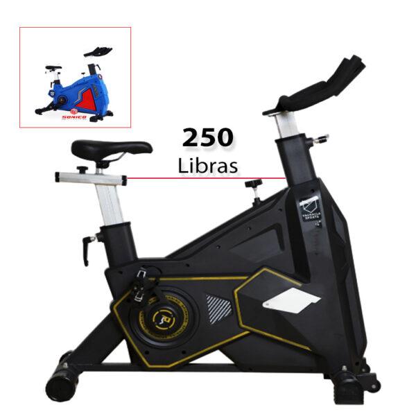 bicicleta spinning estacionaria y bicicleta fija para cardio en casa gimnasio en casa y trotadoras