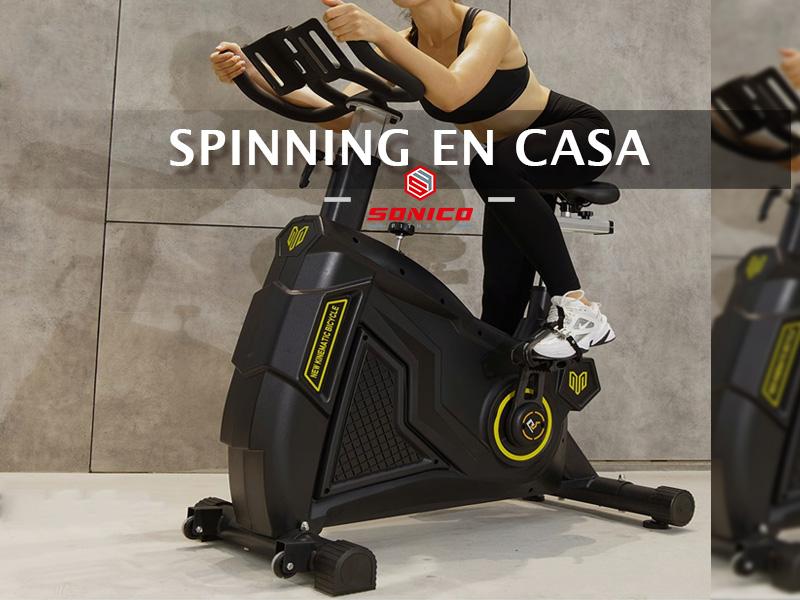 beneficios de hacer spinning o spining en casa